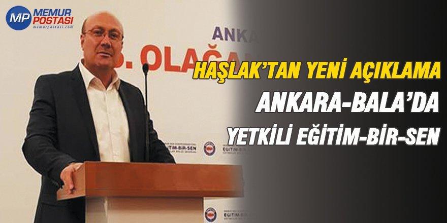 """Ankara-Bala'da Yetkili Eğitim-Bir-Sen! """"Üye Sayılarından Haberiniz Yok"""""""