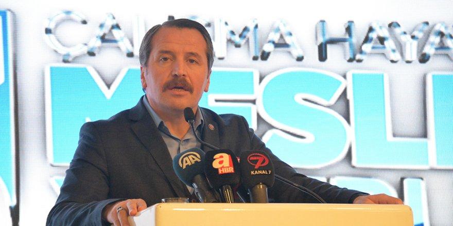 Ali Yalçın, Mesleki Yeterlilik Çalıştayı'nda Konuştu