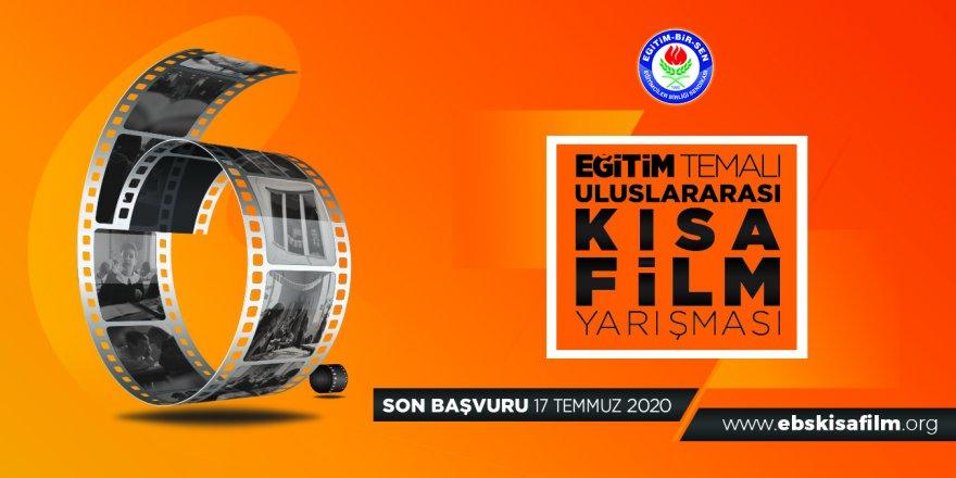 Eğitim temalı 6. uluslararası kısa film yarışması başladı