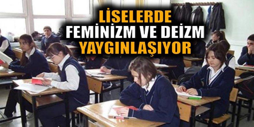 Şok Rapor: Liselerde Feminizm ve Deizm Yaygınlaşıyor