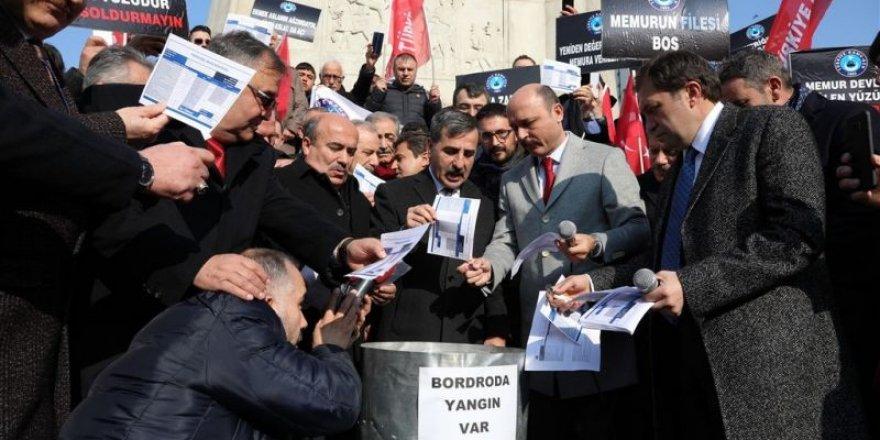 """Önder Kahveci:""""Memurun Bordrosunun Ateşi Tüm Vicdanları Yakıyor"""""""