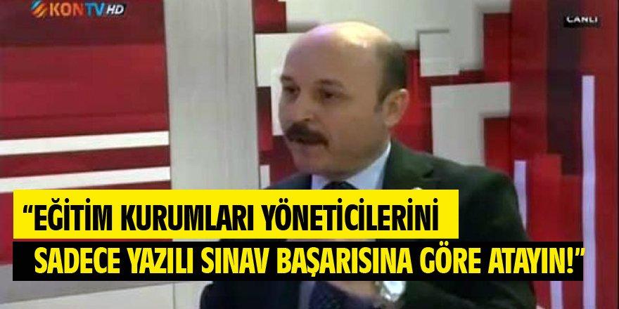Talip Geylan'dan MEB Yönetici Atama Açıklaması