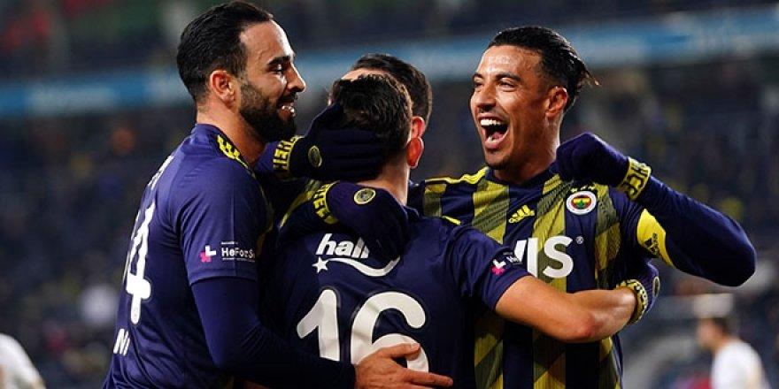Fenerbahçe, Kadıköy'de yine galip!