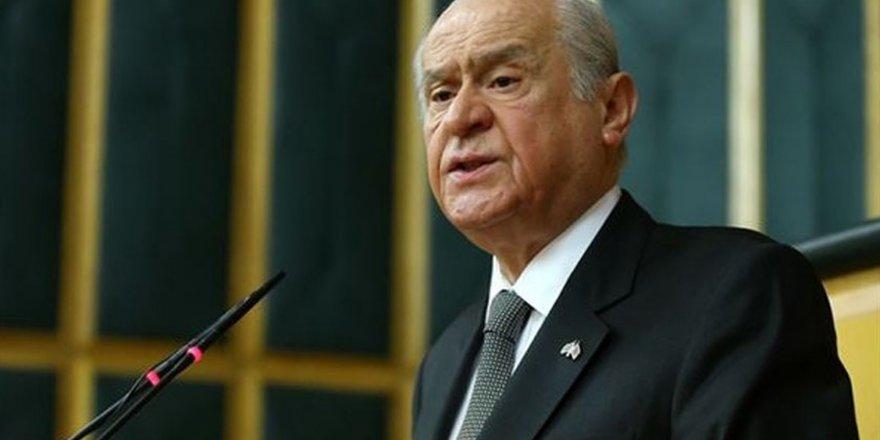 """MHP Lideri Bahçeli'den """"deprem"""" açıklaması!"""