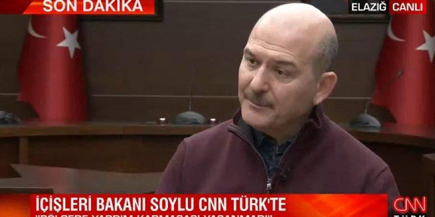 Bakan Soylu: İstanbul'da 7,5'lik bir deprem bekliyoruz