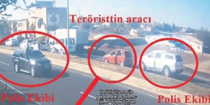 PKK'lı terörist asker aracında yakalanmış!