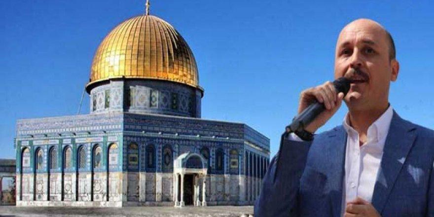 Talip Geylan: Kudüs Peşkeş Çekilemez