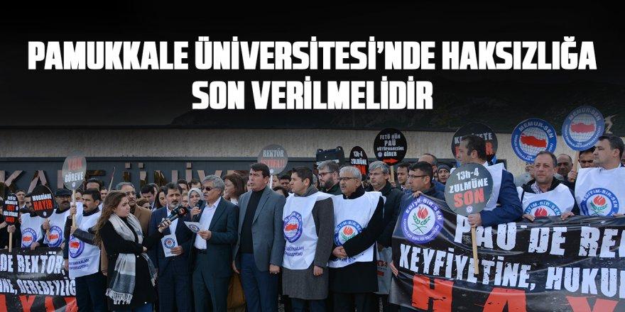Eğitim-Bir-Sen'in Rektör İsyanı: Pamukkale Üniversitesi'nde haksızlığa son verilmelidir