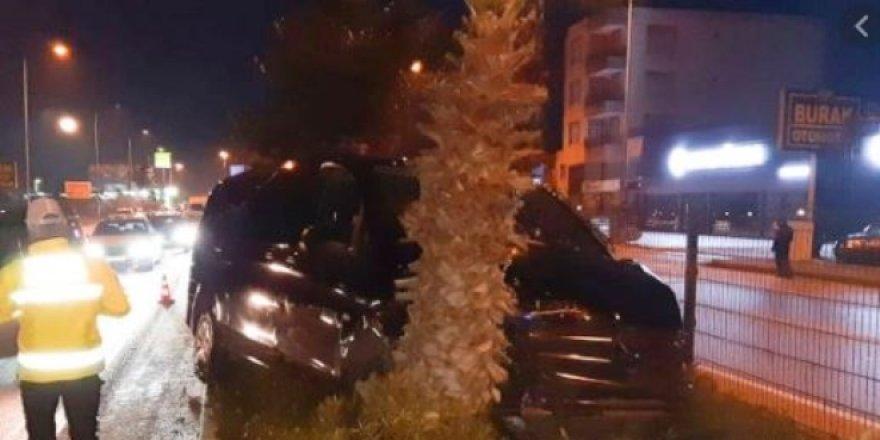Kazada, Özhaseki'nin burnu kırıldı