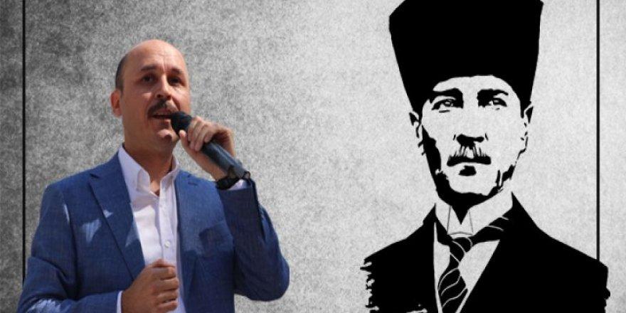 """Talip Geylan,""""Kininizden Kudursanız da Milletimizin Atatürk'e Sadakati Artarak Devam Edecektir"""""""