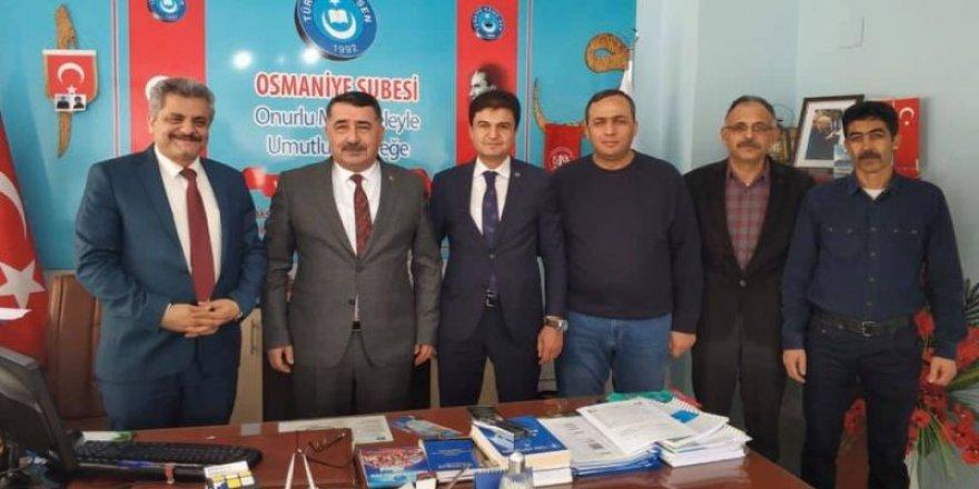 Türk Eğitim-Sen Yöneticileri Hatay ve Osmaniye'de Sahada!