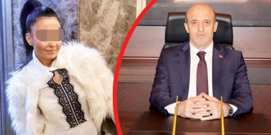 Sevgilisini darp ettiren Vali hakkında 18 yıl hapis talebi