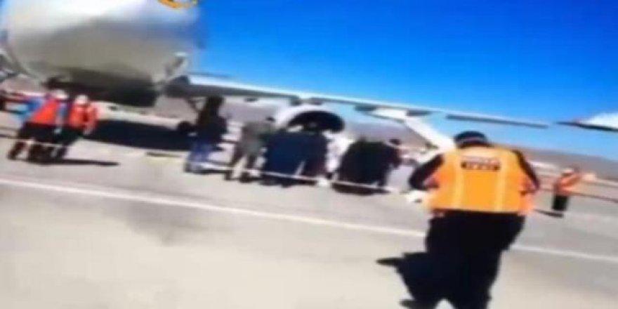 Ankara'da Havalimanı'nda koronavirüs alarmı