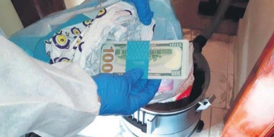 FETÖ'nün paraları süpürgeden çıktı