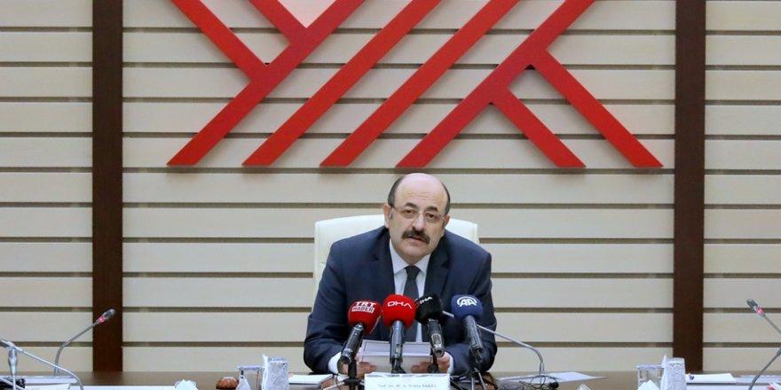 YÖK Başkanı Saraç'tan uzaktan eğitim açıklaması: Tarih ve detaylar belli oldu