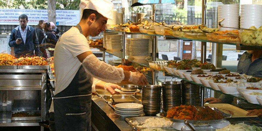 Bakanlıktan restoran, pastane ve lokantalar için yeni karar