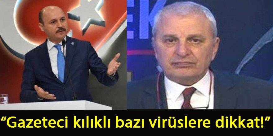 Talip Geylan'dan Can Ataklı'ya: Gazeteci kılıklı bazı virüsler...