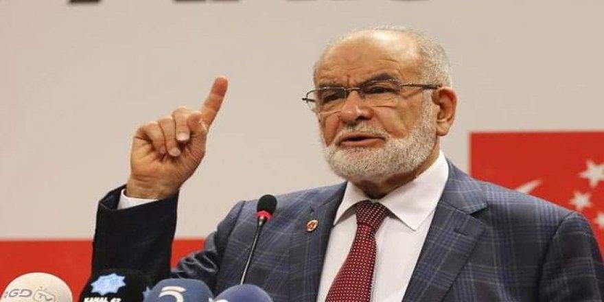 Karamollaoğlu'ndan iktidara çağrı: Herkese biner lira verilmeli