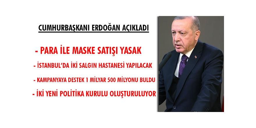 Erdoğan: İhtiyacı Olan Valilik-Kaymakamlıklara Başvursun!