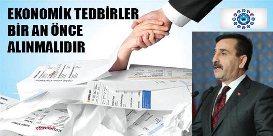 Önder Kahveci: Ekonomik Tedbirlerde Kamu Çalışanları Unutulmasın!
