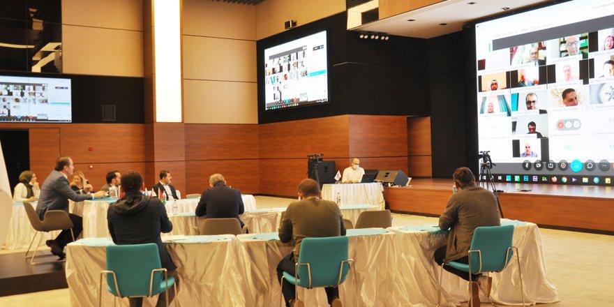 """Uluslararası Sendikacılarla """"KOVID-19 Etkileri"""" Video Konferansı"""
