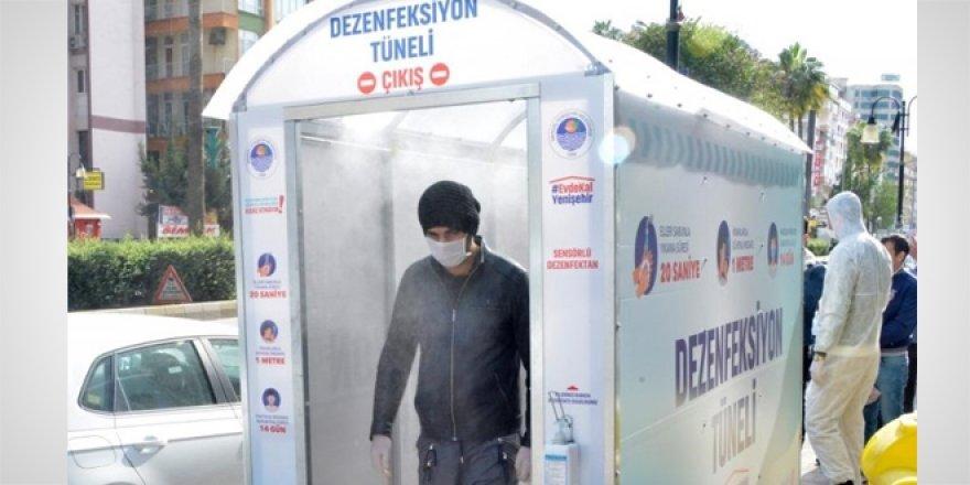 Sağlık Bakanlığı'ndan Dezenfeksiyon Tüneli uyarısı