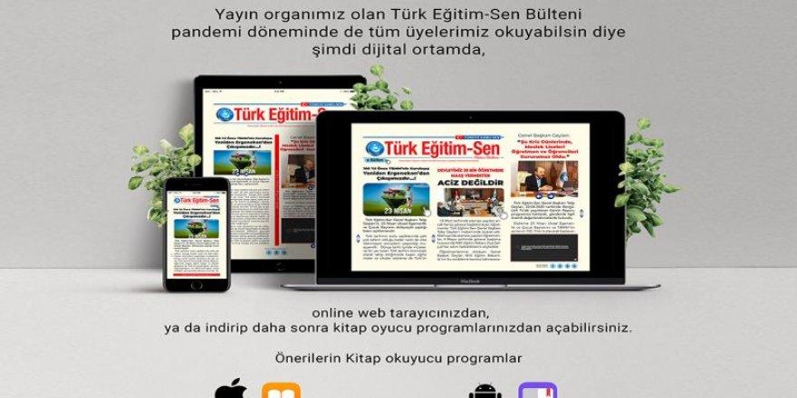 Türk Eğitim-Sen Bülteni Şimdi Dijital Ortamda!