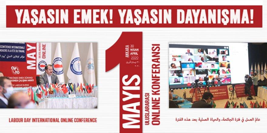 Uluslararası Konferansla 1 Mayıs Kutlaması: Yaşasın Emek, Yaşasın Dayanışma