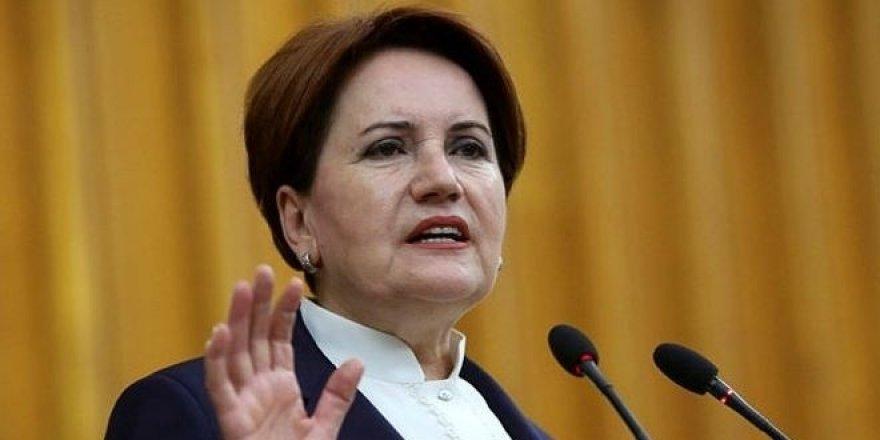"""Akşener'den siyasi parti liderlerine """"Memleket masası"""" çağrısı"""