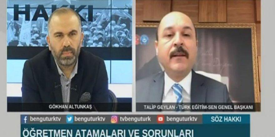Talip Geylan: Ne Mutlu Türküm Diyene İfadesinden Rahatsız Olanlar...