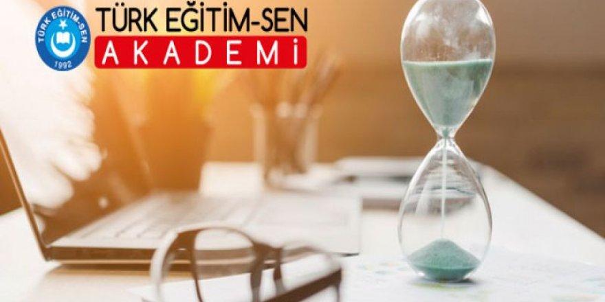 MEB Adaylık Kaldırma Sınavı'na Hazırlığın Adresi: Türk Eğitim-Sen Akademi