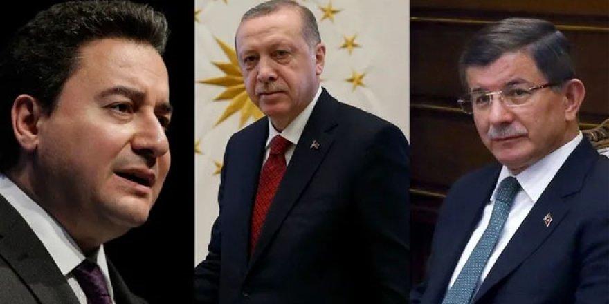 Erdoğan'dan Babacan ve Davutoğlu yorumu