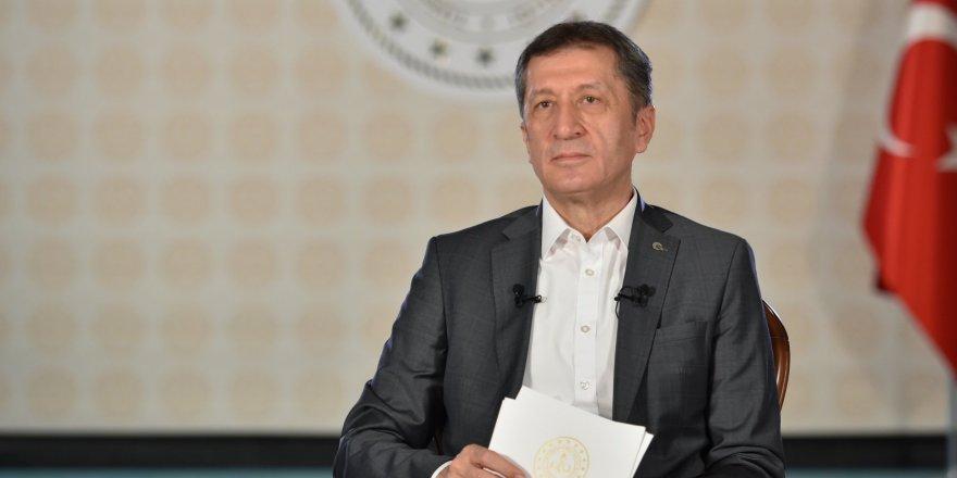 """Milli Eğitim Bakanı Ziya Selçuk'tan """"Ara Tatil"""" Açıklaması"""