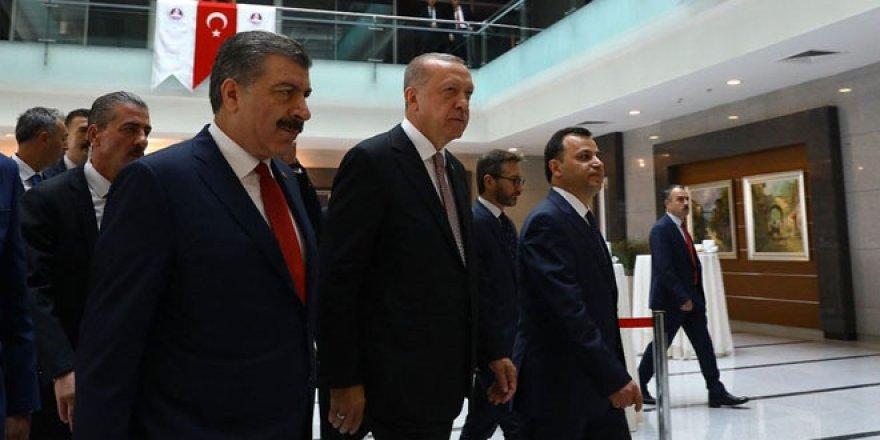 Erdoğan'dan Fahrettin Koca'ya: Bu rakamlar neden artıyor?