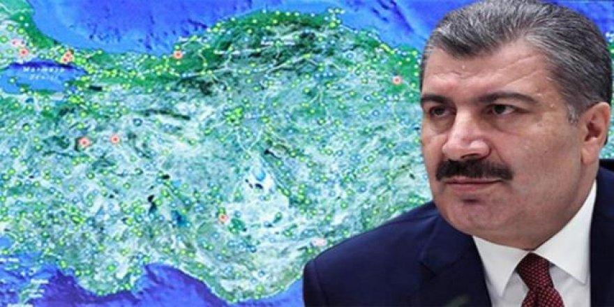 Bakan Koca açıkladı: Vaka sayısının en çok arttığı 10 şehir