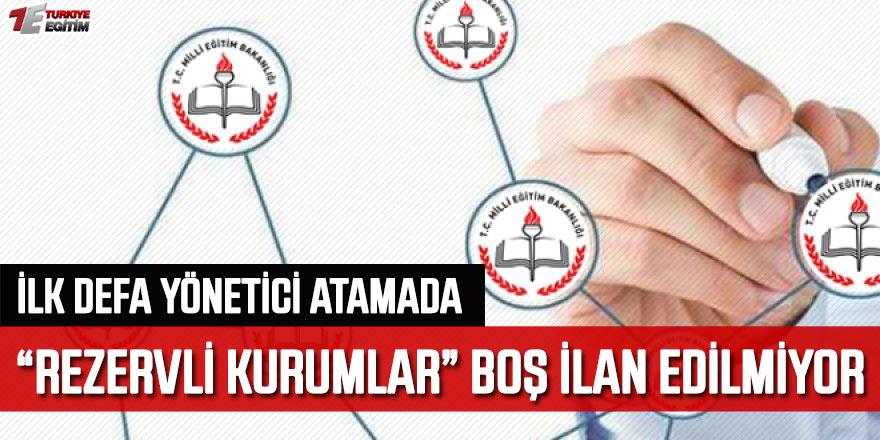 """MEB Yönetici Atama """"Rezervli Müdürlük"""" Oyunu! İlan edilmeyen kurumlar..."""