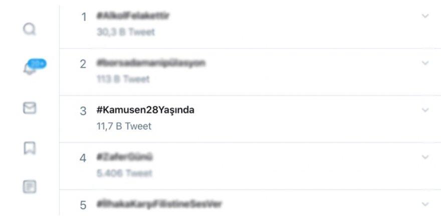 Twitter'da Türkiye Kamu-Sen Rüzgarı Esti! #KamuSen28yaşında