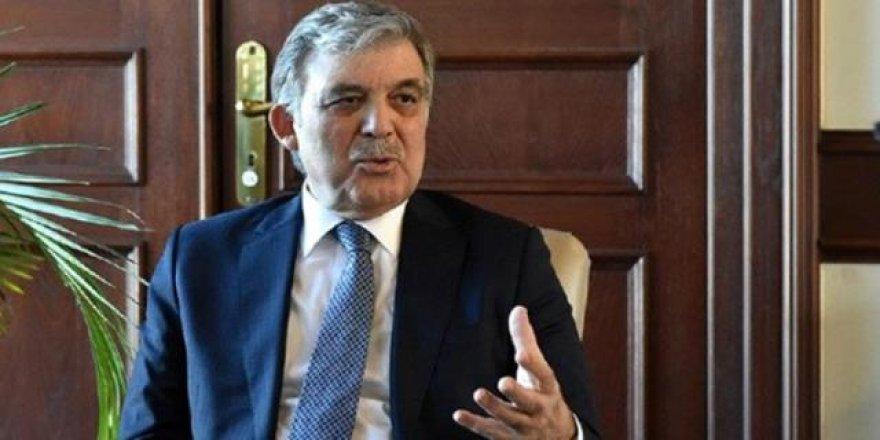 Abdullah Gül'den ilginç AYM çıkışı!