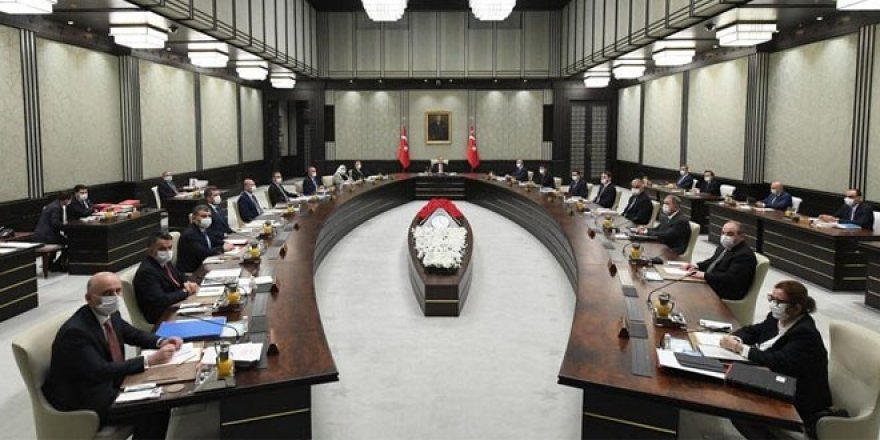 Kabine Erdoğan başkanlığında toplanıyor