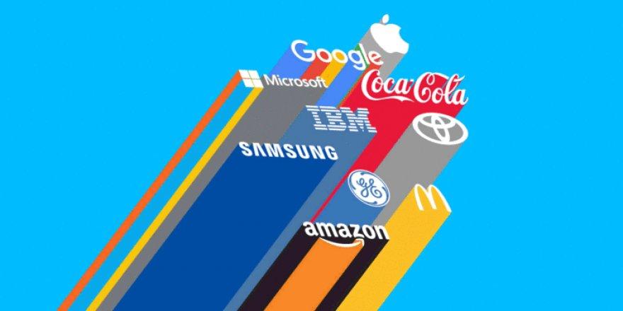 Dünyanın en değerli markaları belli oldu