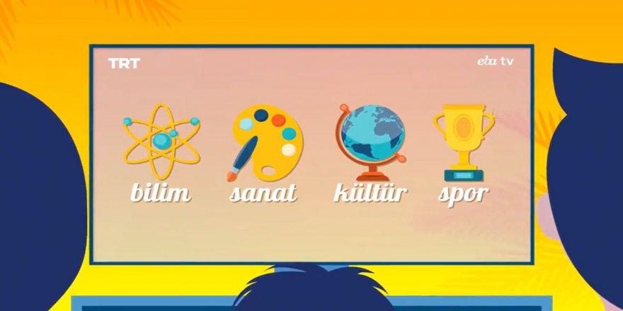 6 - 10 Temmuz 2020 Eba TV Yaz Okulu Ders Programı