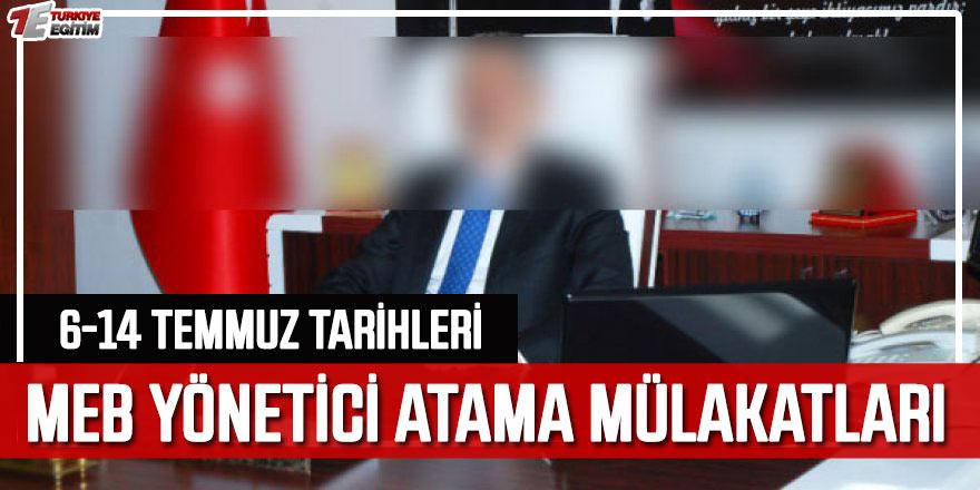 MEB İlk Defa Yönetici Atama Mülakatları Başlıyor!