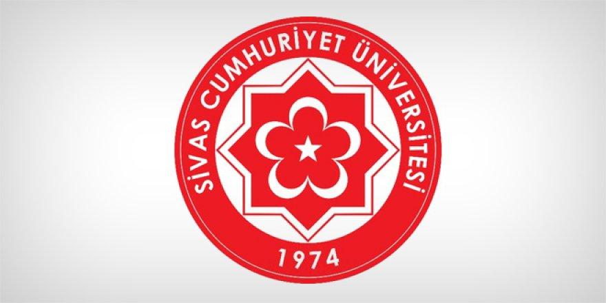 Sivas Cumhuriyet Üniversitesi Öğretim Üyesi Alım İlanı