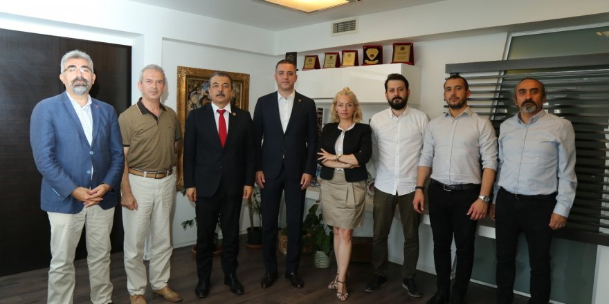 Eğitim-İş'ten Ankara Barosu'na Destek Ziyareti!