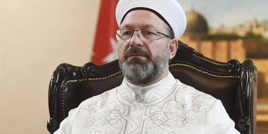 Diyanet İşleri Başkanı'ndan 'Ayasofya' açıklaması
