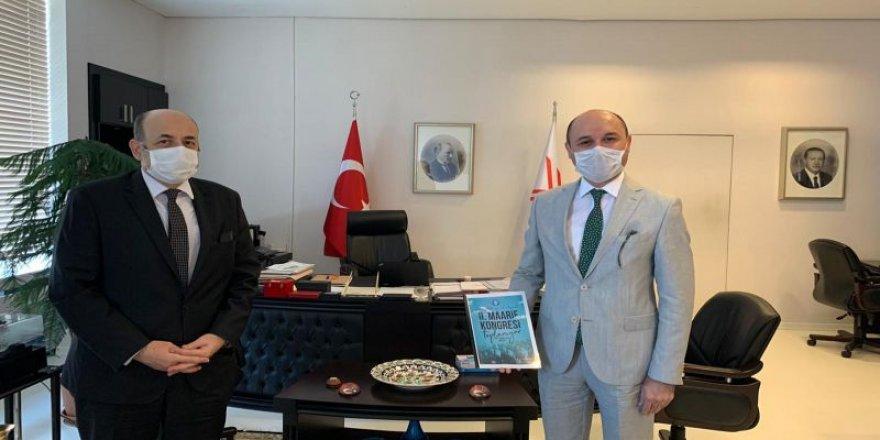 Talip Geylan'dan YÖK Başkanı Prof. Dr. Yekta Saraç'a ziyaret
