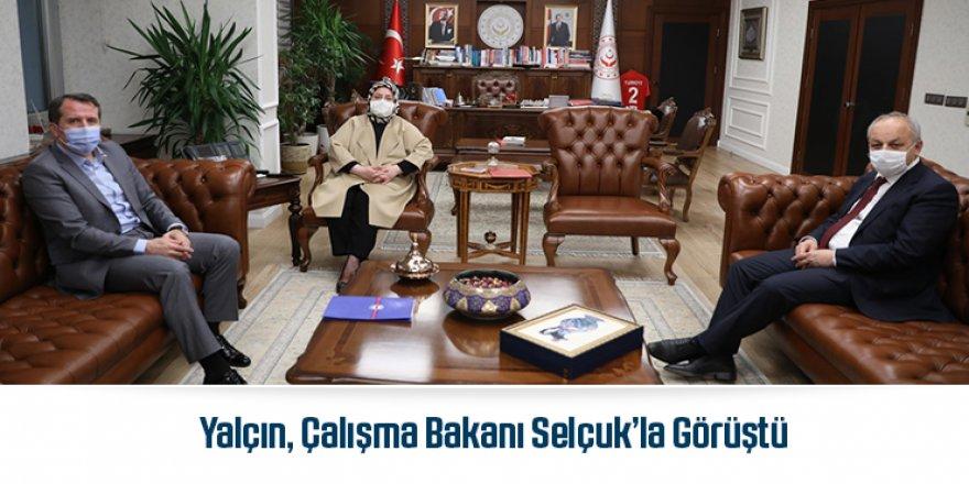 Memur-Sen Genel Başkanı Ali Yalçın'dan Selçuk'a ziyaret
