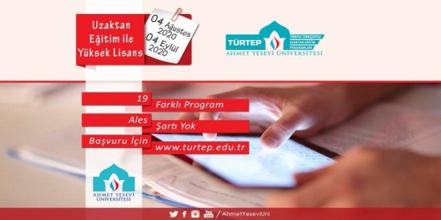 Ahmet Yesevi Üniversitesi Yüksek Lisans İlanı