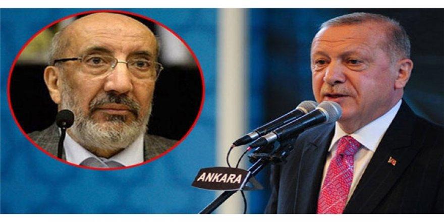 Erdoğan'dan Dilipak'a 'AKP'nin papatyaları' tepkisi