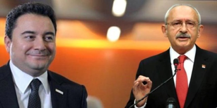 CHP'nin adayı Ali Babacan mı olacak?